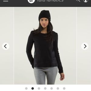 Lululemon Ruffled Up Pullover
